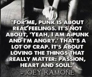 punk, joey ramone, and ramones image