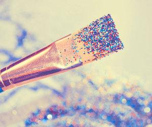 glitter, Brushes, and art image
