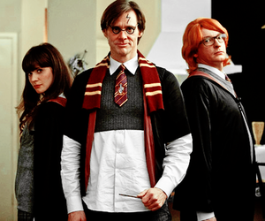 harry potter, jim carrey, and yes man image