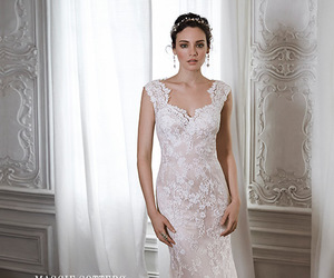 dress, white, and elegant image