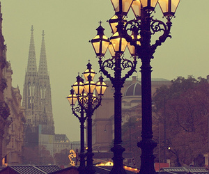 light, vienna, and city image