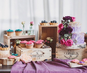 boxes, cake, and colorful image