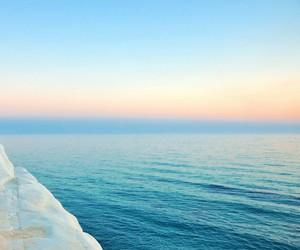 ocean, sea, and sun image