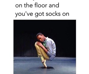 funny, socks, and true image