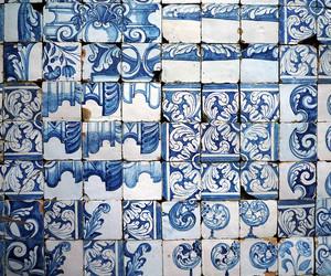 blue, ceramics, and decoration image