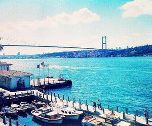 bridge, istanbul, and turkey image