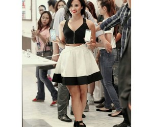 clothes, demi, and demi lovato image