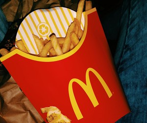 chips, fast food, and fries image