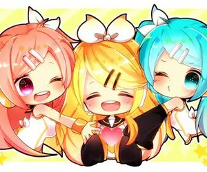 chibi and vocaloid image