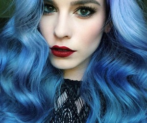 amazing and bluehair image