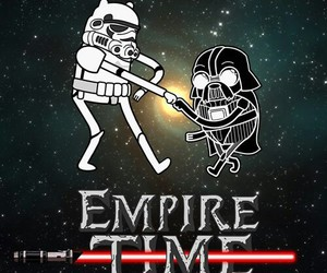 star wars, adventure time, and empire time image