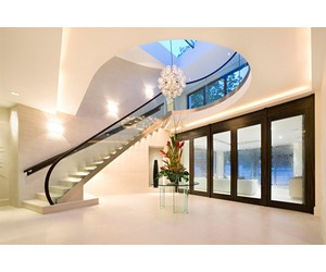 beautiful, stairs, and white image