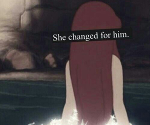 ariel, disney, and change image
