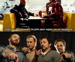 Avengers, chris evans, and iron man image