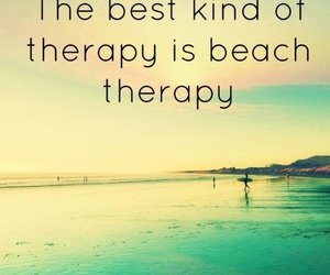 beach, therapy, and summer image