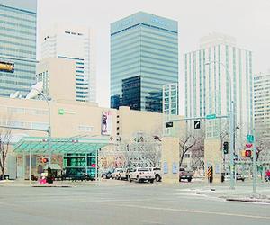 city, korea, and Dream image