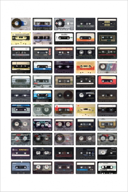 cassette and tape image