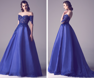 dress, fadwa baalbaki, and gown image