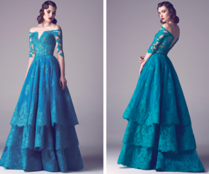 dress, blue, and fadwa baalbaki image