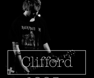 black and white, lockscreen, and michael clifford image