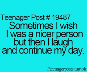 teenager post, funny, and laugh image