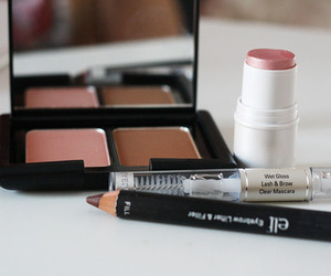 makeup, beauty, and blush image