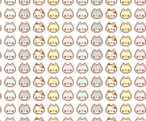 cat, background, and pixel image