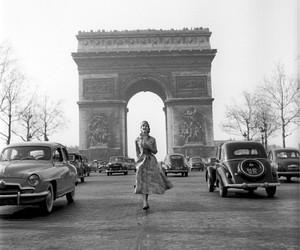 paris and woman image