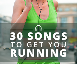 running music and running playlist image
