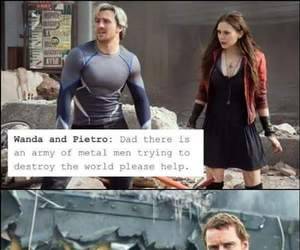 Avengers, magneto, and quicksilver image