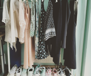 closet, colour, and girl image