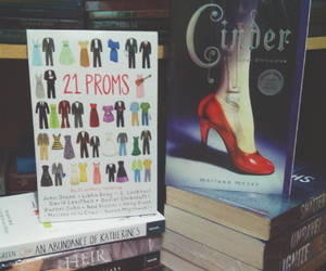 books, john green, and cinder image