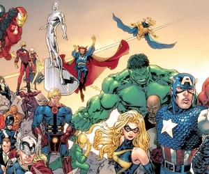 Hulk, spiderman, and Marvel image