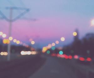 lights and pink image