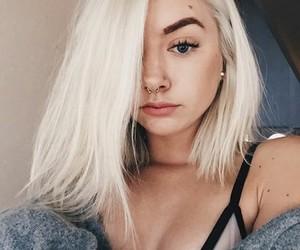 maddi bragg, blonde, and tumblr image