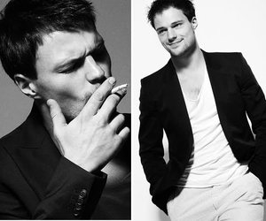 russian, actor, and cigarette image
