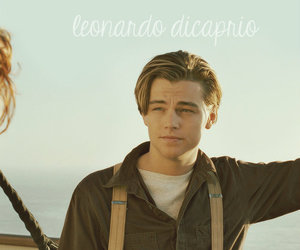 titanic, leonardo dicaprio, and Hot image