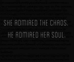 chaos, feels, and her image