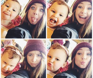 baby, funny faces, and hair image