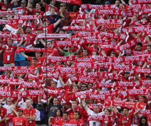 fans, football, and Liverpool image