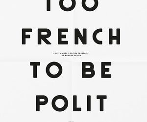 quotes, french, and words image