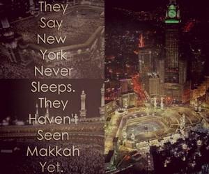 islam, muslim, and hajj image
