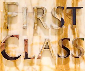 luxury, first class, and gold image