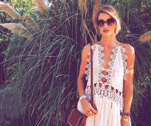coachella, dress, and model image