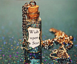 wish, sparkle, and stars image