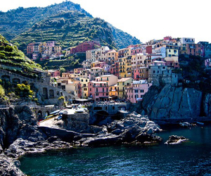 beautiful, italy, and sea image