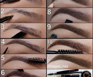 look, make up, and ideas image