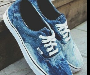 blue jeans, outfits, and vans image