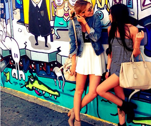 black, girls, and vestido image
