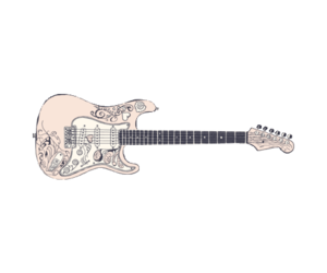 guitar and png image